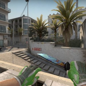 Sport Gloves Hedge Maze + Ursus Case Hardened  Blue Gem #112