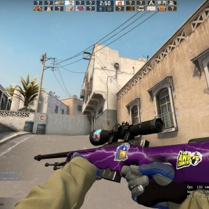 AWP Lightning Strike with Specialist Gloves Mogul