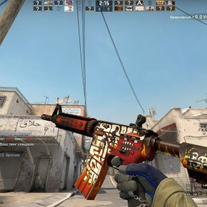 StatTrak™ M4A4 Hellfire and Specialist Gloves Mogul