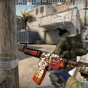 M4A4 Hellfire + Specialist Gloves Mogul