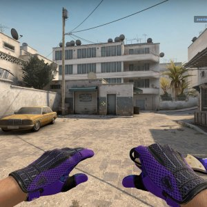 Sport Gloves  Pandora's Box +  Talon Knife Doppler Phase 4