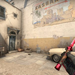 Specialist Gloves Crimson Kimono + Stiletto Knife Ruby
