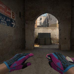 Sport Gloves Vice + Talon Knife  Doppler Phase 2 Max Pink