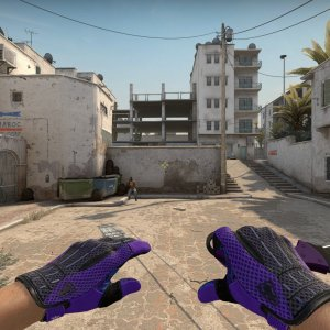 Sport Gloves Pandora's Box+ Talon Knife Ultraviolet