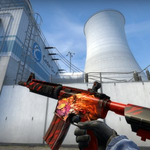 M4A4 HOWL + First Blood (Holo)