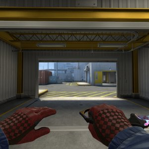 Blood in the Water Combo - karambit case hardened  #509 + Crimson Weave