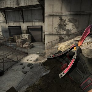 Crimson Kimono Full red + 100%  Butterfly Knife Fade