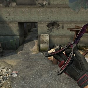 Crimson Kimono Full red + Butterfly Knife Doppler Phase 2