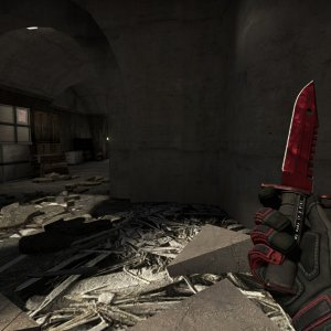 Crimson Kimono Full red + M9 Bayonet Doppler Ruby