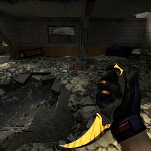 Karambit Tiger Tooth +  Gloves Fade