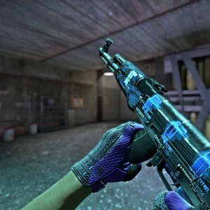 2AK-47 Blue Laminate +   Pandora's Box
