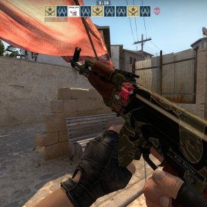 ST FN jaguar with IBP holo on head