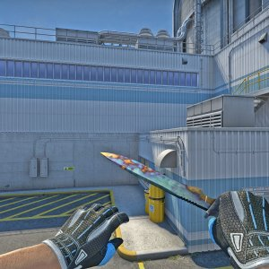 Classic Knife Case Hardened FN  #180