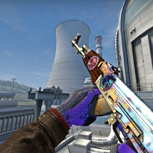 AK-47  Case Hardened (Factory New) #955 0.019  Blue gem TIER-1 (BUFF)  Rank 1(CSM)