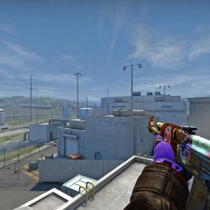 AK-47  Case Hardened (Factory New) #955 + Pandora's Box
