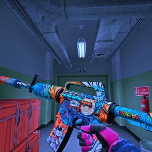 StatTrak™ M4A1-S Player Two (Minimal Wear) 0.08+ Vice MW