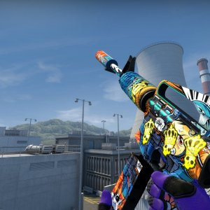 M4A1-S  Player Two 4x crown