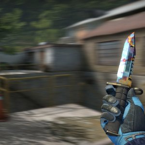 M9 Bayonet Case Hardened Blue Gem #550