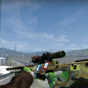legendary Souvenir AWP Dragon Lore WW from the private collection- iBUYPOWER (Foil) Titan (Foil) Vox Eminor (Foil) Reason Gaming (Foil)