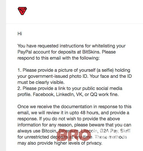 whitelist for Paypal | BroSkins - CSGO trade & skins