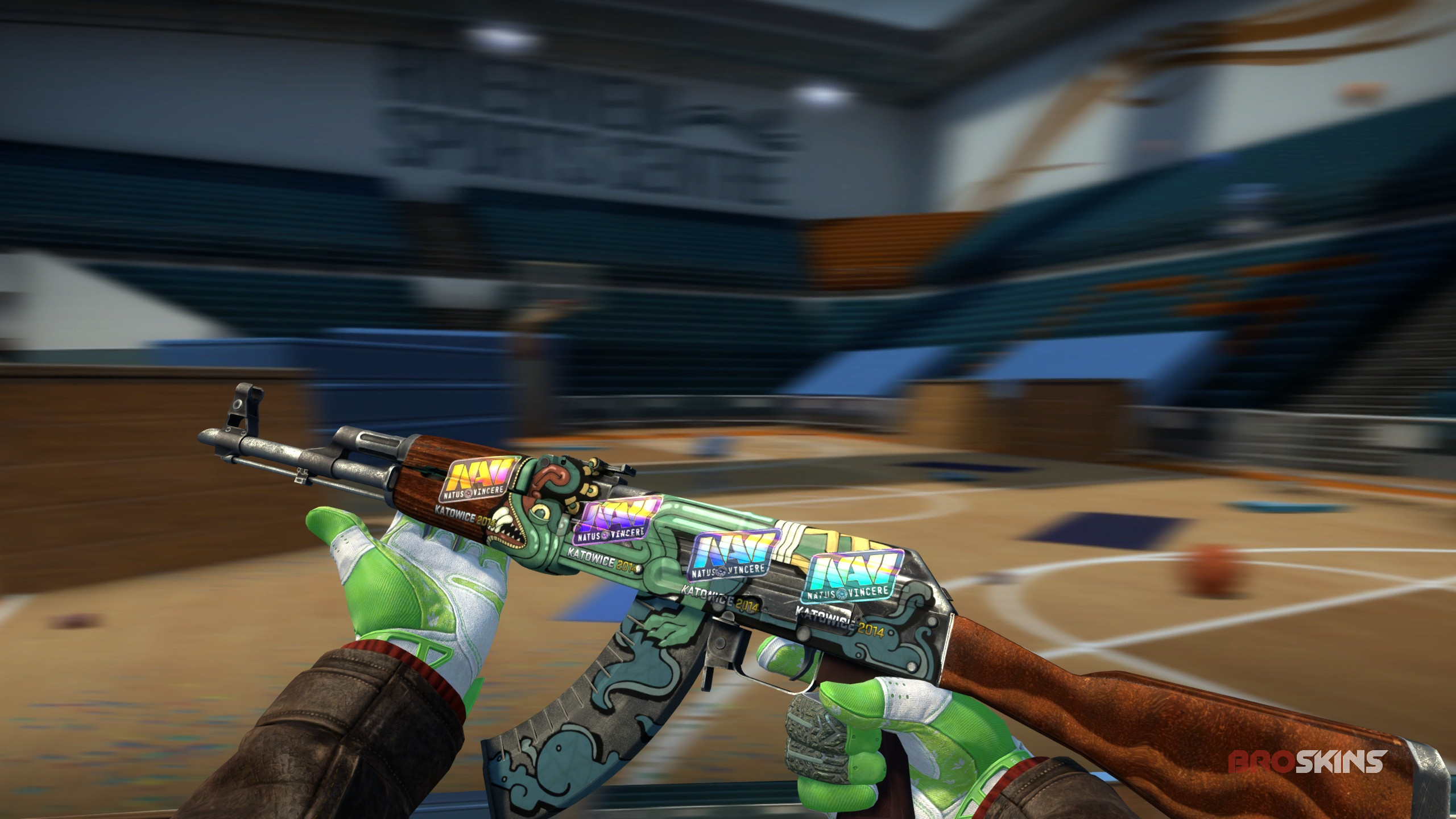 Ak 47 Fire Serpent Factory New 4x Natus Vincere Holo Katowice 2014 Broskins Csgo Trade Skins