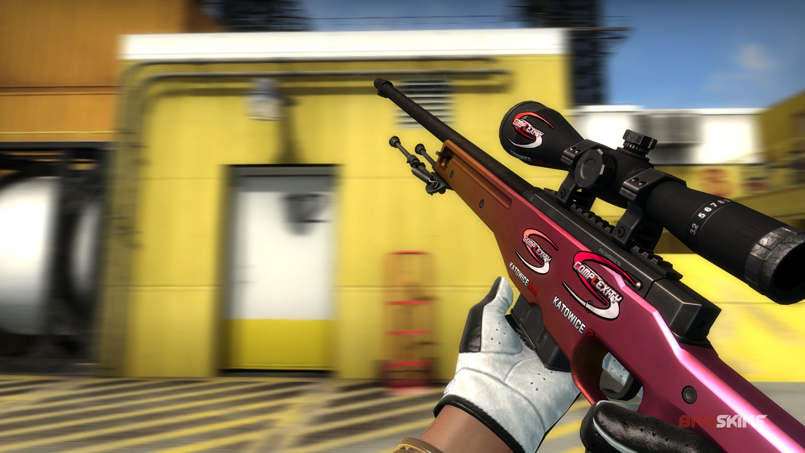 AWP Fade + 4x compLexity Gaming (Holo) Katowice 2014
